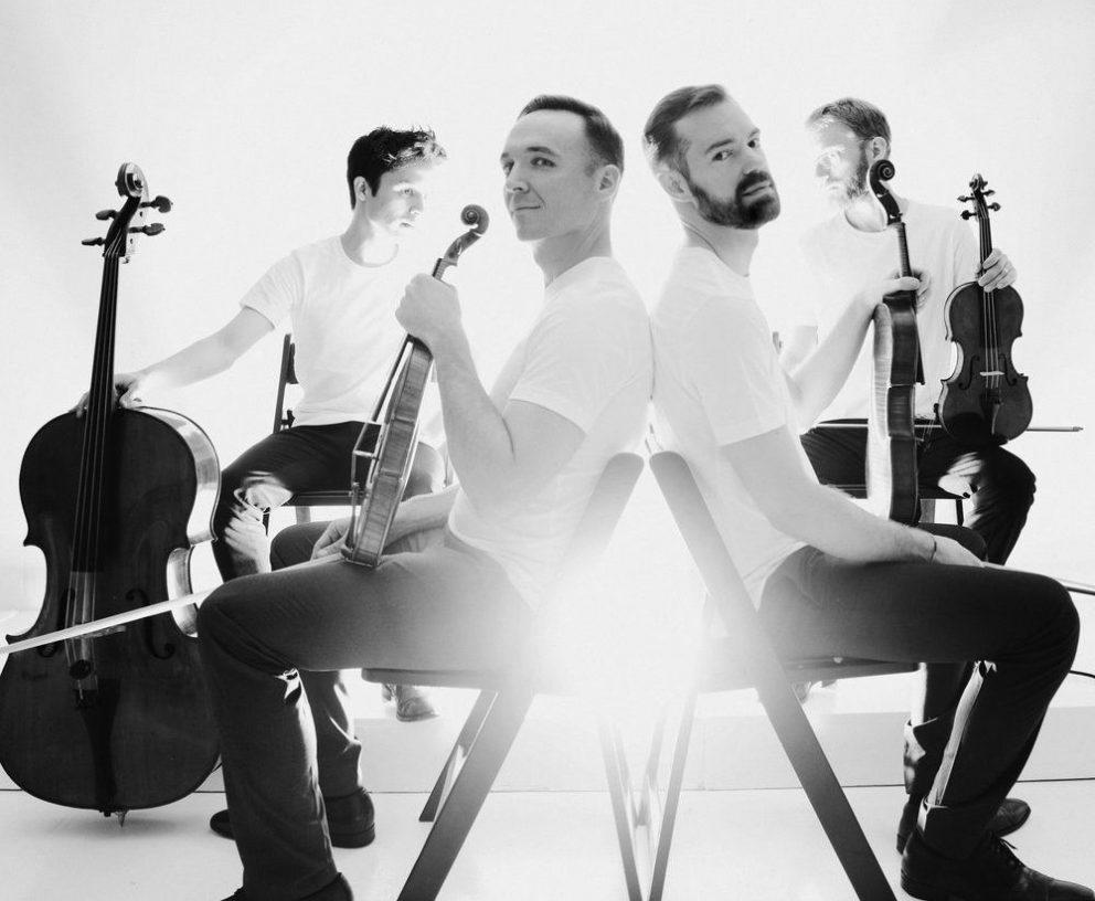 Publicity shot of JACK Quartet