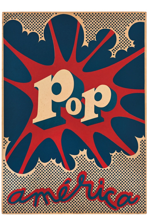 Pop-art style image of the word Pop in an exploding balloon